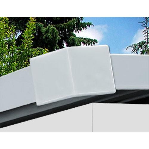 Deuba Deuba Tuinhuis antraciet metaal 210x132x186cm