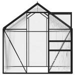 VXL Broeikas 2,47 m² aluminium antraciet