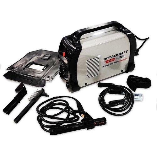 Kraftroyal Line Inverter-lasmachine - Elektroden 1,6 - 4,0mm - 35x23x27,5cm - Grijs - IGBT-N350