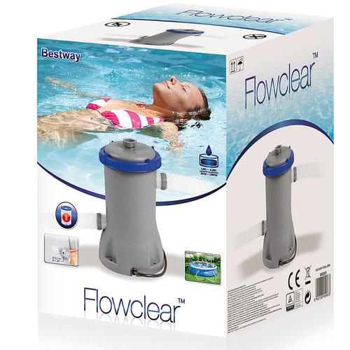 Bestway Bestway Flowclear™ filterpomp 2.006 l/h + filterpatroon