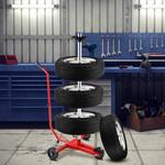 Monzana Monzana Velgboom Mobiel Rood Aluminium, Banden tot 225mm