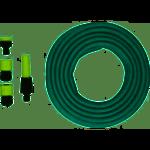 Grizzly Tools  Grizzly Vuilwaterpomp Dompelpomp set INCLUSIEF 15 meter tuinslang, Tuinsproeier met Verbindingsstukken, Telescopische Gazonsproeier en kraanstuk