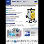 GYS GYS Lasinverter/ Lasapparaat met accessoires - SMARTMIG 182 - 35-180A
