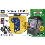 GYS GYS Lasinverter set inclusief LCD - Techno 11 - Elektroden 1,6 t/m 4 mm - GYSMI 160P