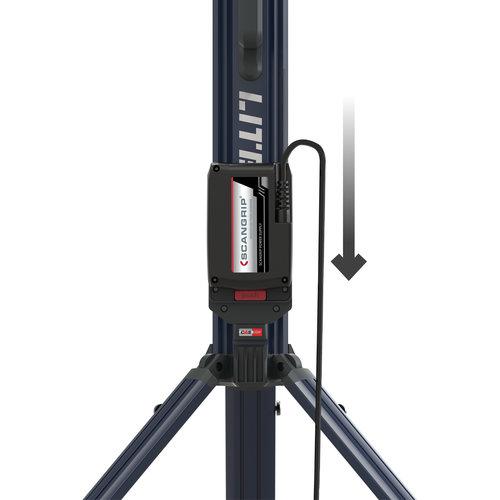 Scangrip Scangrip Schijnwerper - Bouwlamp met statief - 2 Meter - 5000 Lumen - voor CAS accusysteem