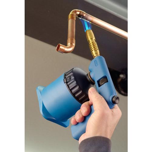 CFH CFH Soldeerbrander PZP7000 met 3 gaspatronen, voorzien van Piezo ontsteking en in alle standen te gebruiken