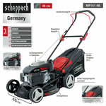 Scheppach Scheppach Benzine Grasmaaier MP141 -46– 4-takt | 141cc | 46cm | 2500W