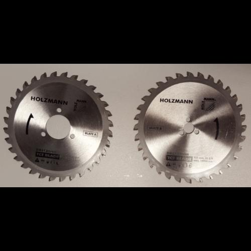Holzmann Holzmann Reserve Metalen zaagbladen voor de Holzmann DBS125 - Ø125 mm - Voor hout en staal