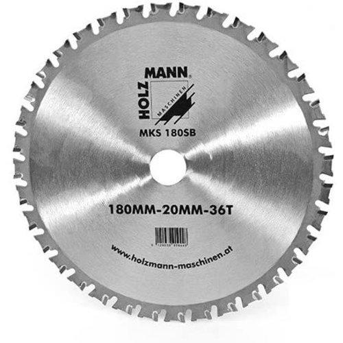 Holzmann Holzmann Reserve zaagblad voor de Holzmann MKS180 - Metaal - Ø180 mm