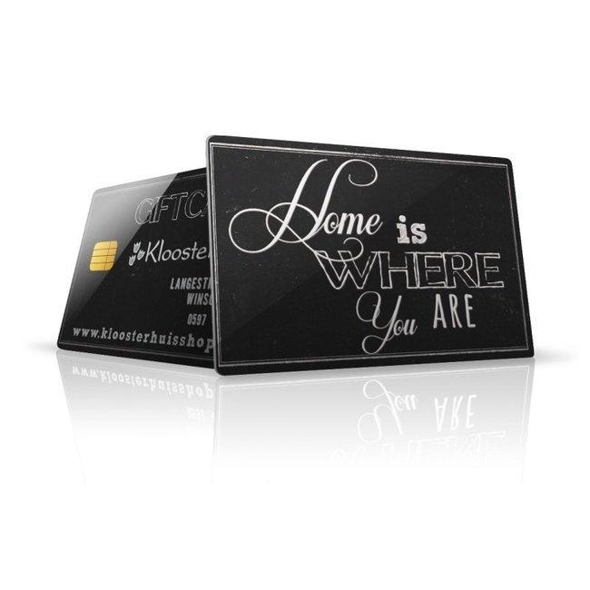 Gift card € 75,00
