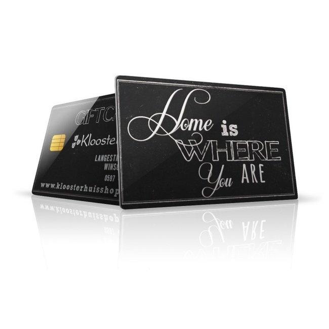 Gift card € 80,00