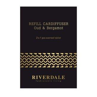 Riverdale Navulling Autoparfum Milou zwart