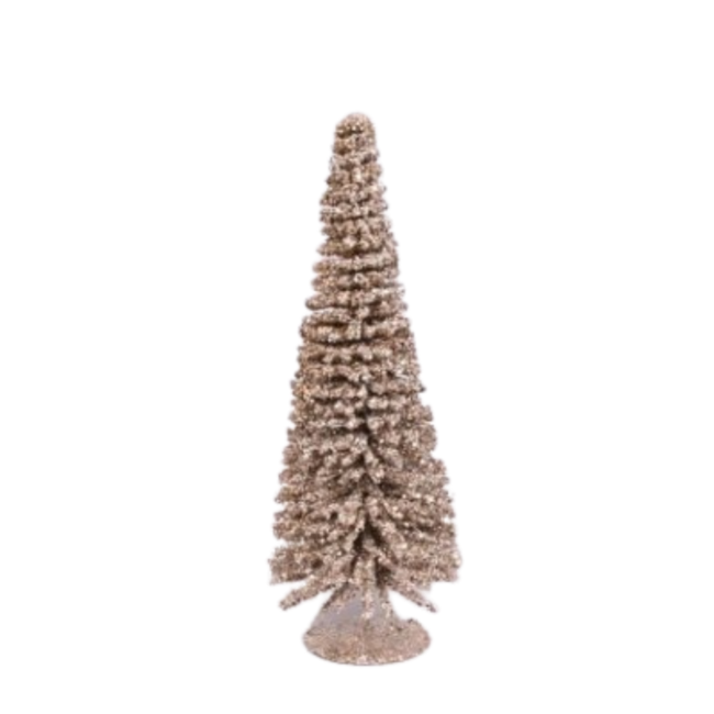Sparkle kerstboom Chapagne 15x40 cm