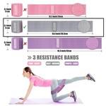 Jobber Fitness Weerstandsband grijs (medium)