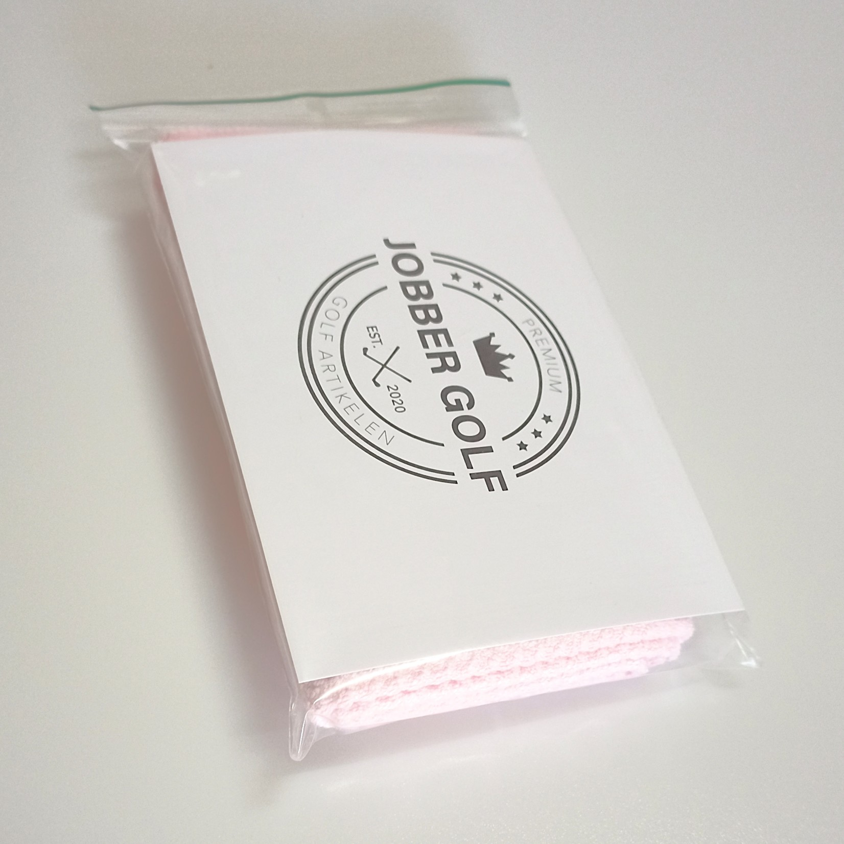 Jobber Golf Jobber Golf – Microfiber golfhanddoek sneldrogend (roze)