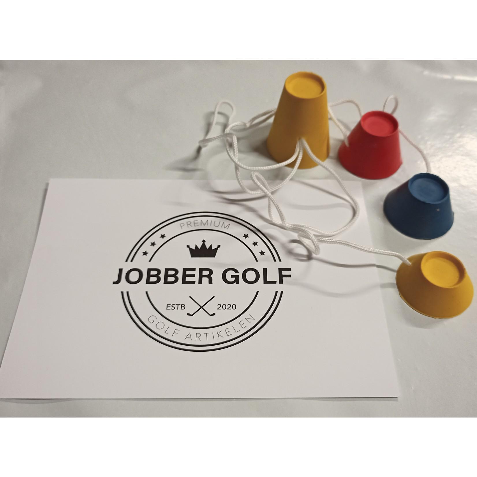Jobber Golf Jobber Golf – 4x Winter Golf tee met verschillende hoogtes