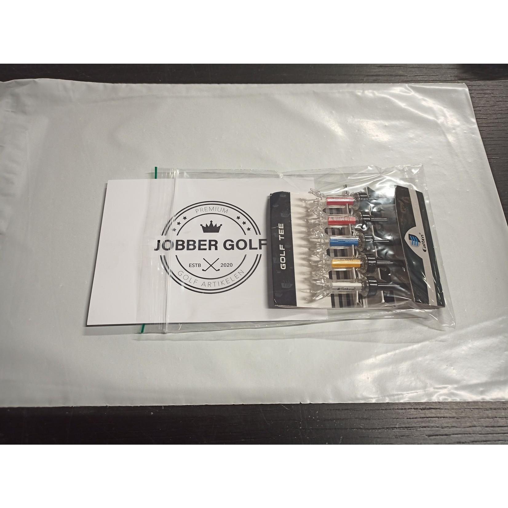 Jobber Golf Jobber Golf – 5x magnetische golf tees 79 mm - 360° draaibaar
