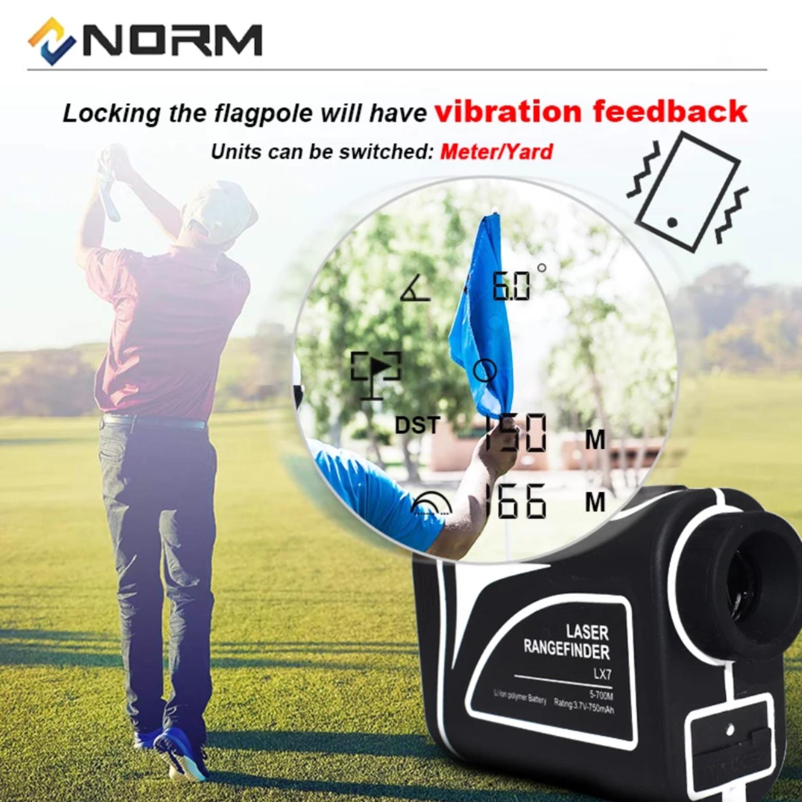Jobber Golf Norm Rangefinder laser - Golf afstandsmeter 700m