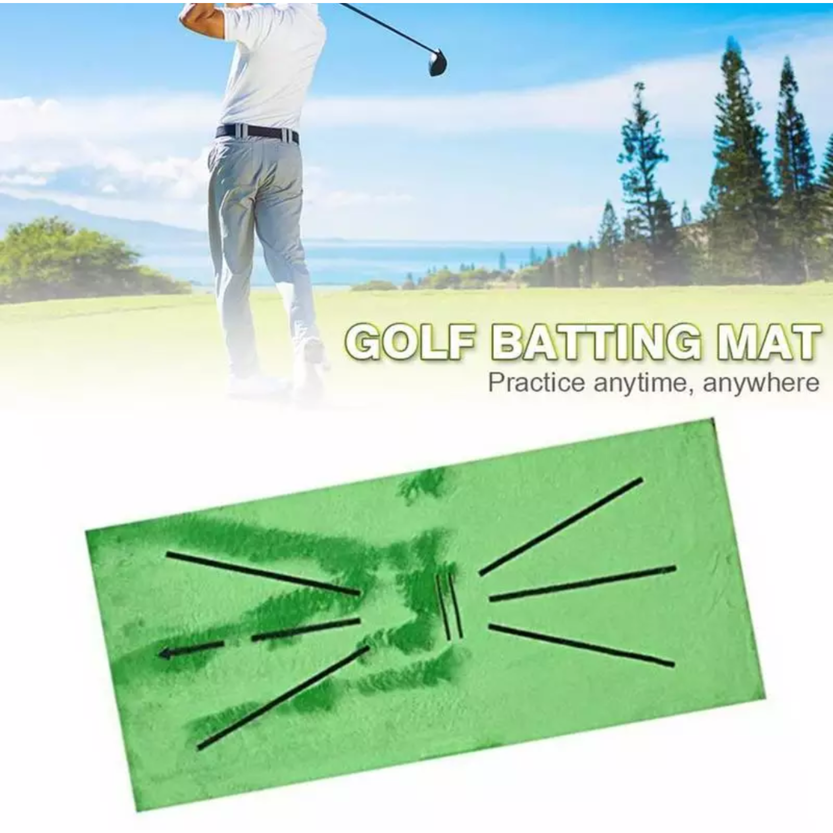 Jobber Golf Jobber Golf – Golf oefenmat / afslagmat