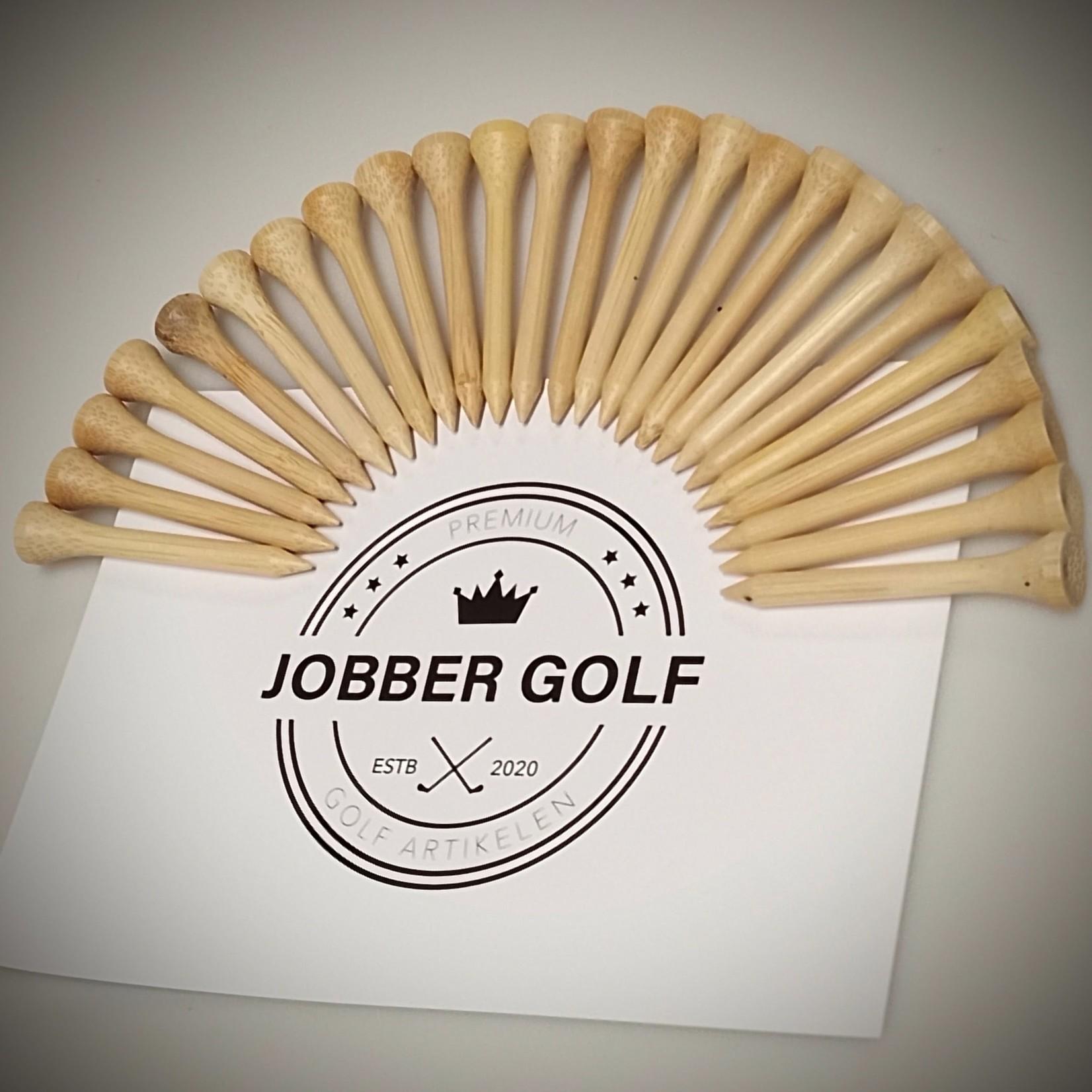 Jobber Golf Jobber Golf - Bamboe golf tees 54 mm  (24 stuks)