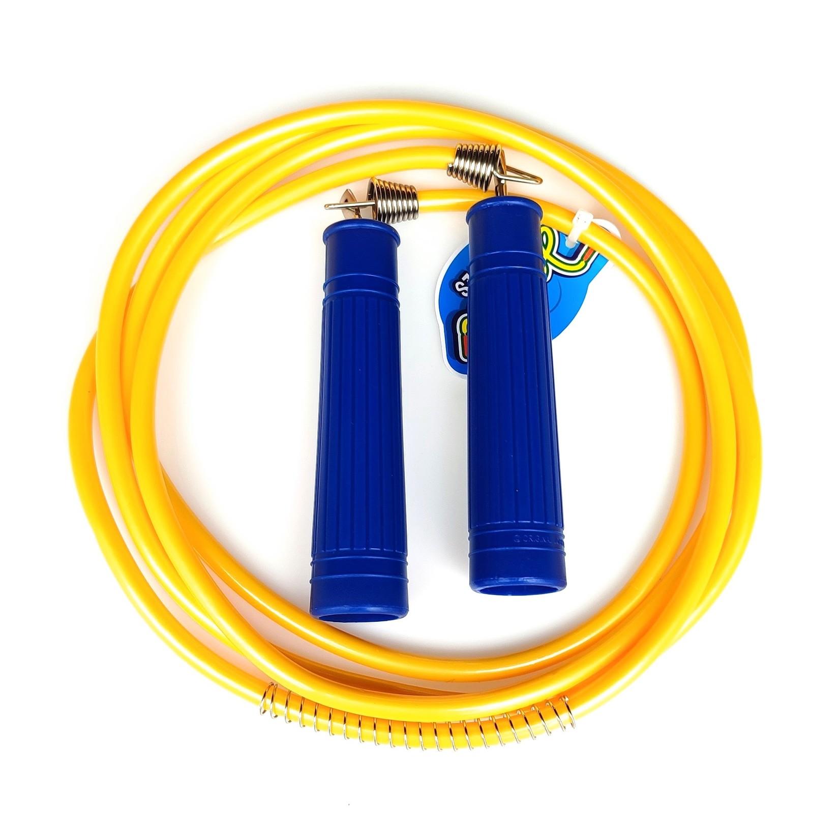 Jobber Ropes kids Jobber Ropes – Kinder springtouw Deluxe (geel)