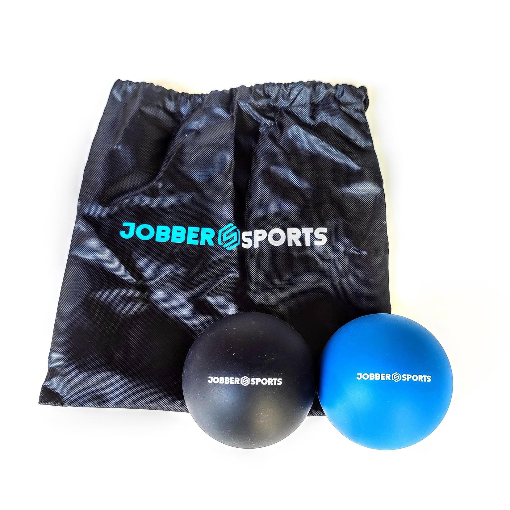 Jobber Sports Jobber Sports Fitness set - 2x Massage bal & Springtouw Twister 1.0