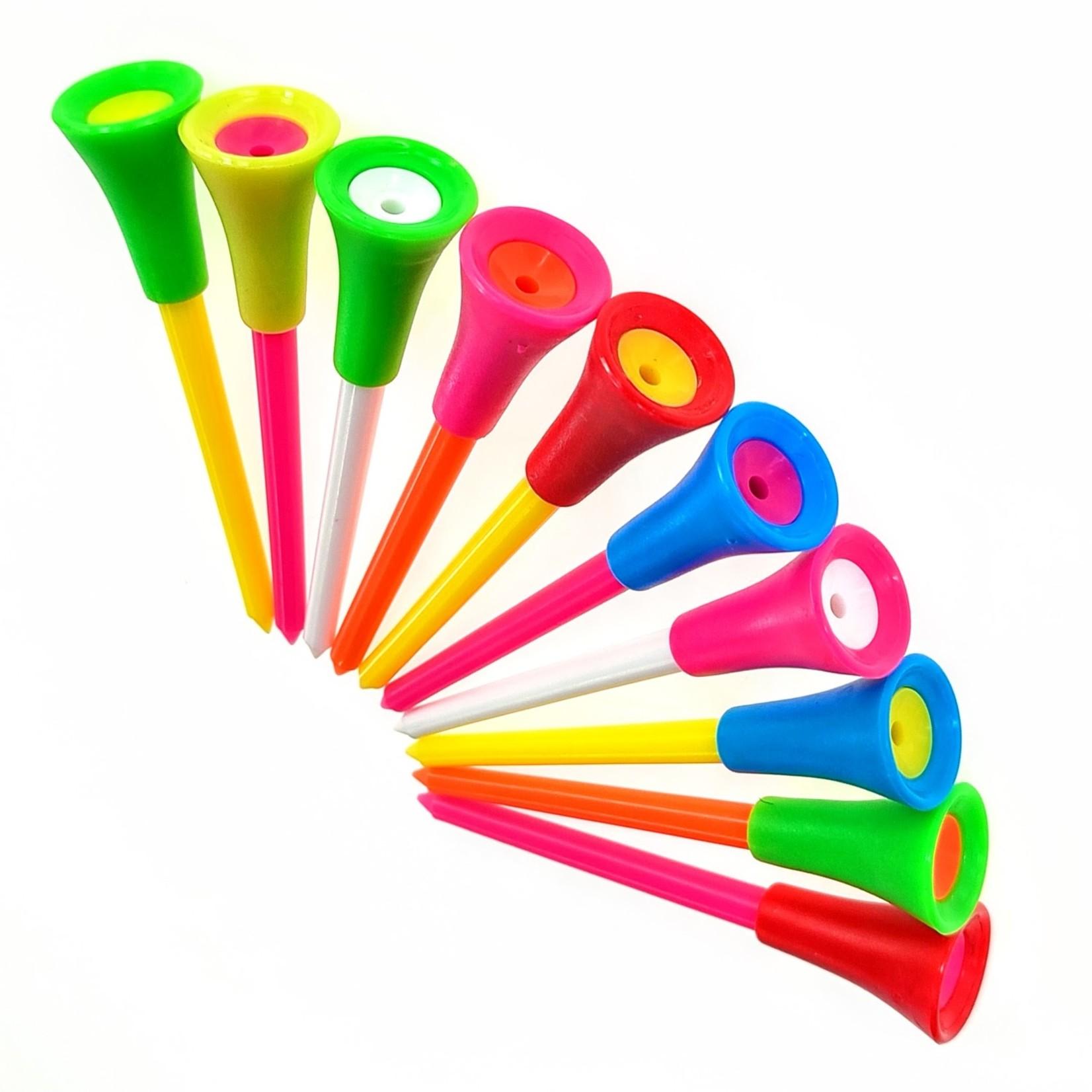 Jobber Golf Jobber Golf - Plastic golf tees 83 mm (10 stuks)