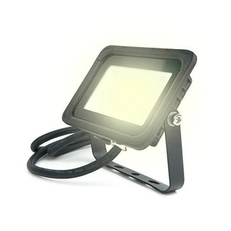 PURPL LED Floodlight 10W 3000K Warm White IP65 Black