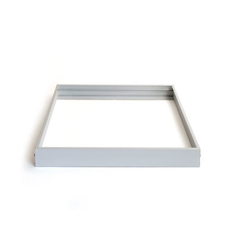 PURPL LED Panel Mounting Frame 62x62 Silver