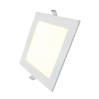 PURPL LED Downlight 18W 4000K 225mm Dimmable Square