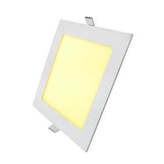 PURPL LED Downlight 18W 3000K 225mm Dimmable Square