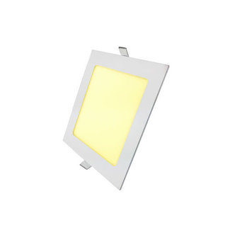 PURPL LED Downlight 12W 3000K 170mm Dimmable Square