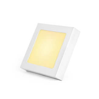 PURPL LED Downlight 12W 3000K 170mm Dimmable Square with Frame