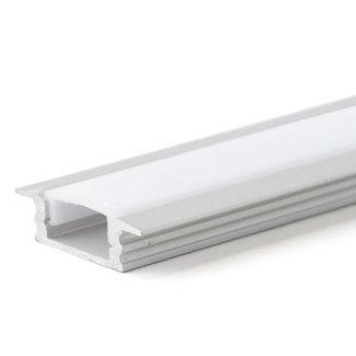 PURPL LED Strip Frame Aluminium 2,5m 17,5 x 7mm built-in