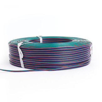 PURPL LED Strip Extension cable 4 wire AWG22 RGB 50 meter