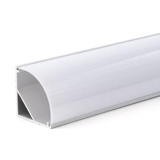 PURPL LED Strip Frame Aluminium 2,5m 30x30mm Corner XL