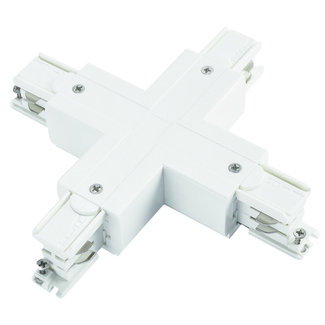POWERGEAR Track Light System X Connector 4-wired White