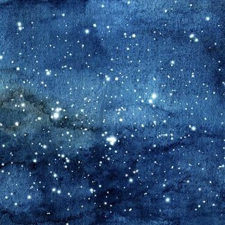 PURPL Stars Ceiling A | Photo on Canvas Textile Frame LED lighting |120x120| [IMG29]