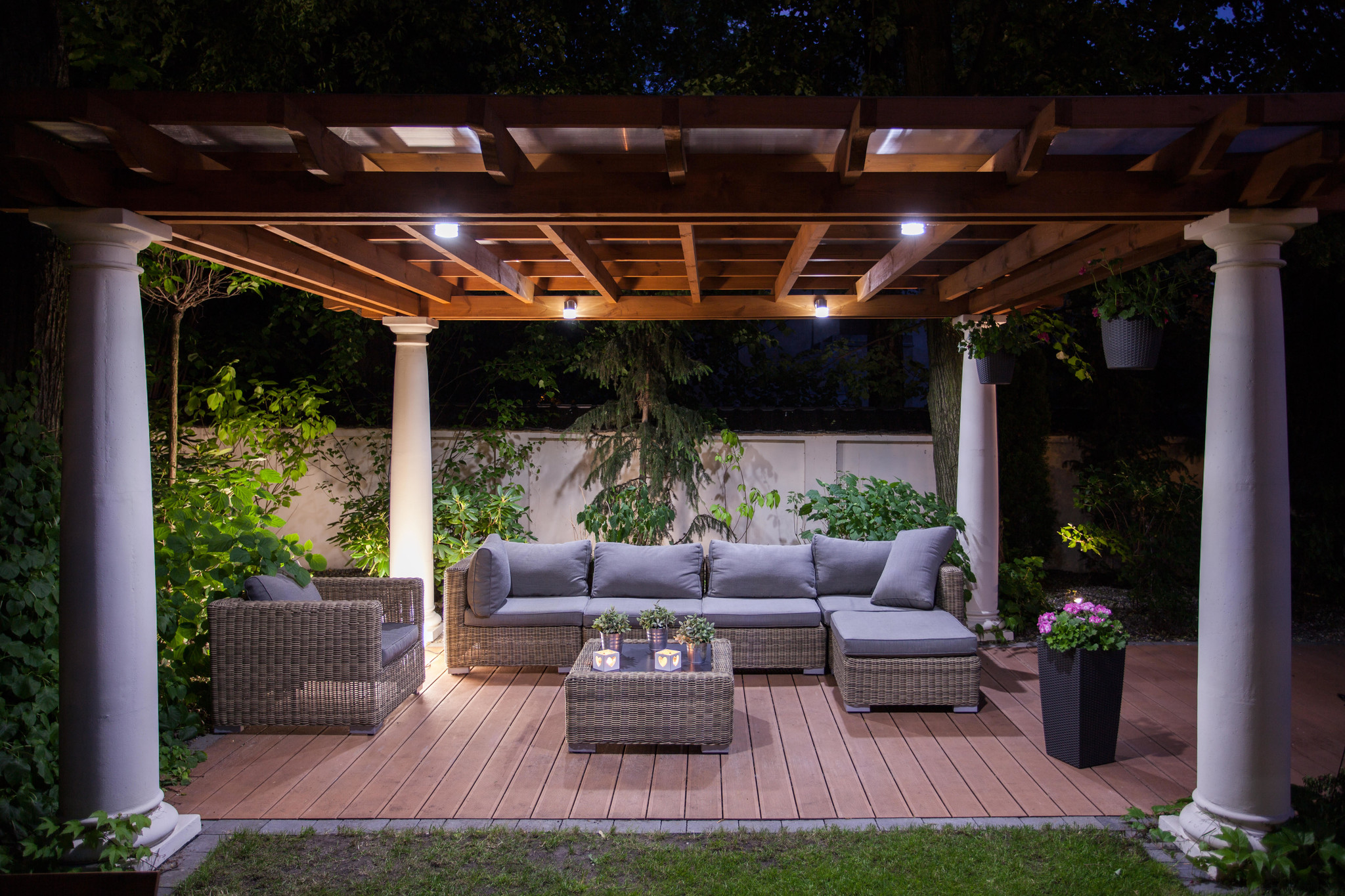 Inspiration: Plants and LED outdoor lighting