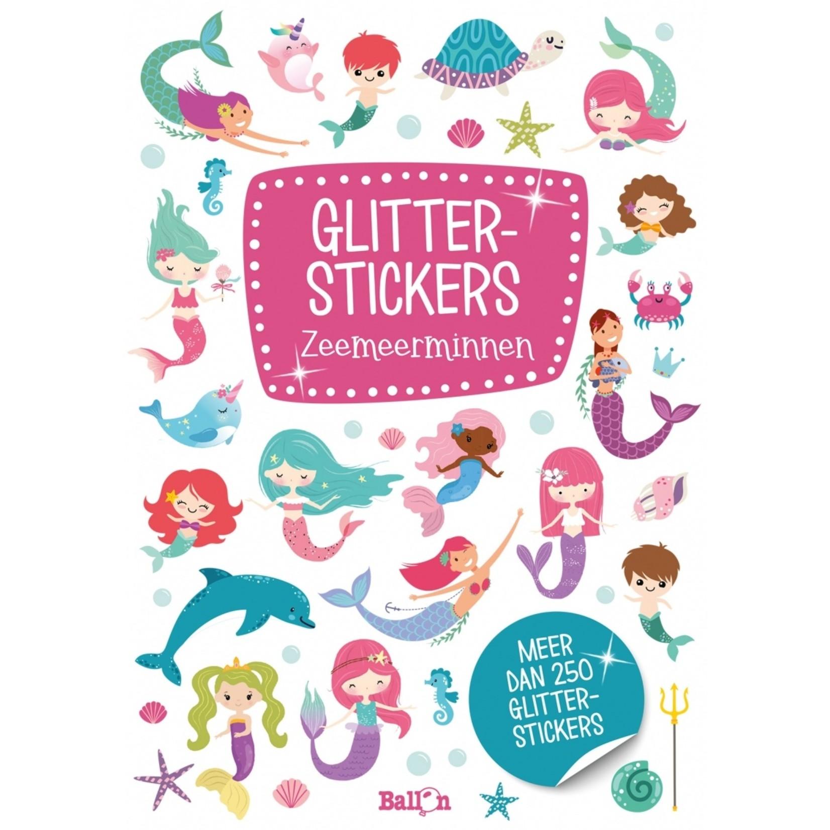 Glitterstickers Zeemeerminnen