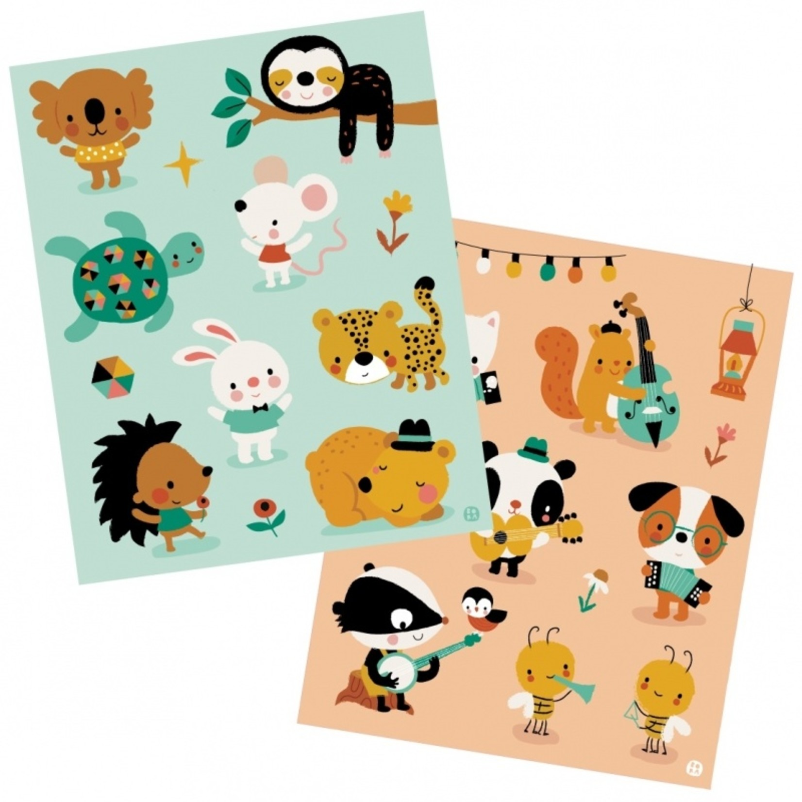 Stickers - Kleine muis en vrienden