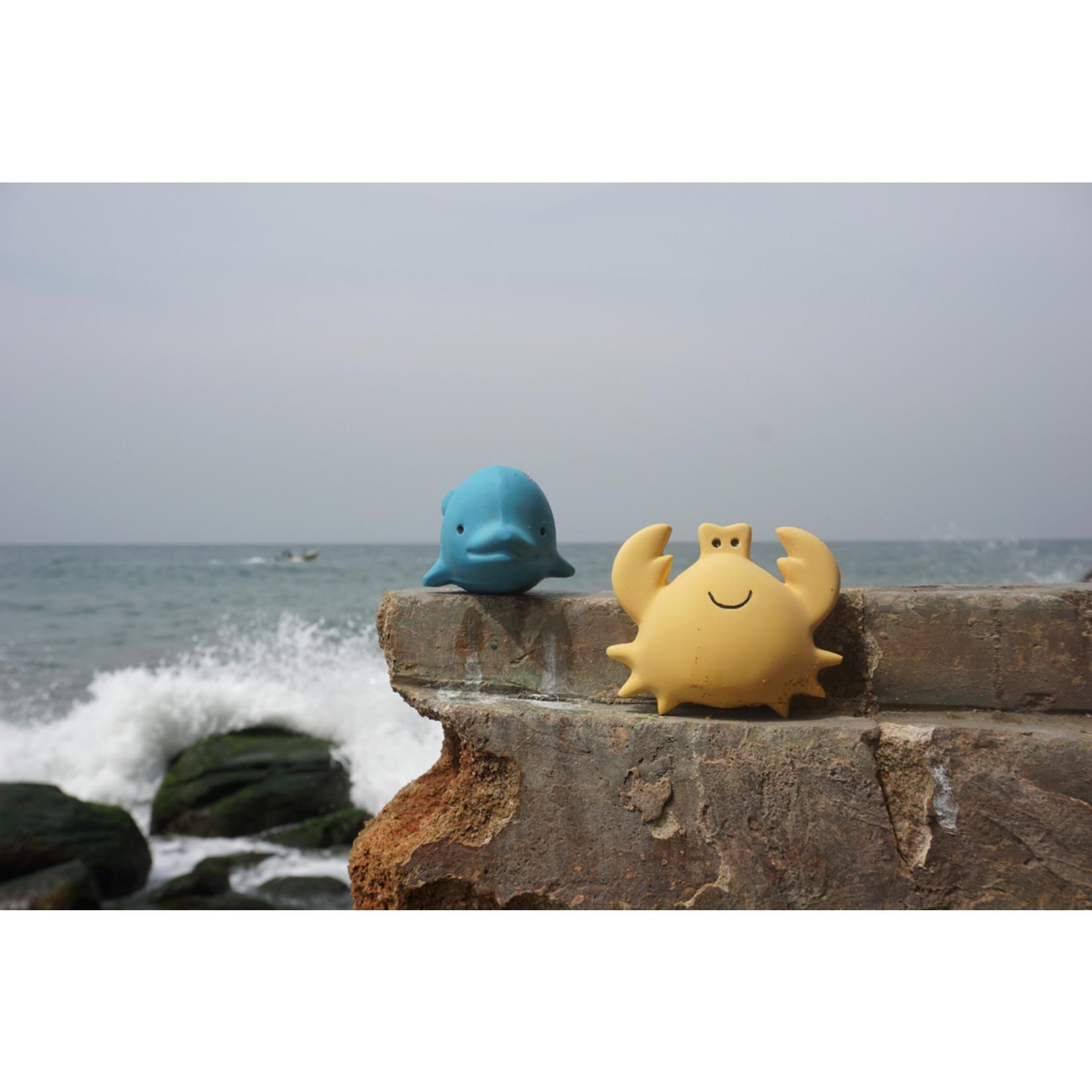 Bad- en bijtspeelgoed Krab