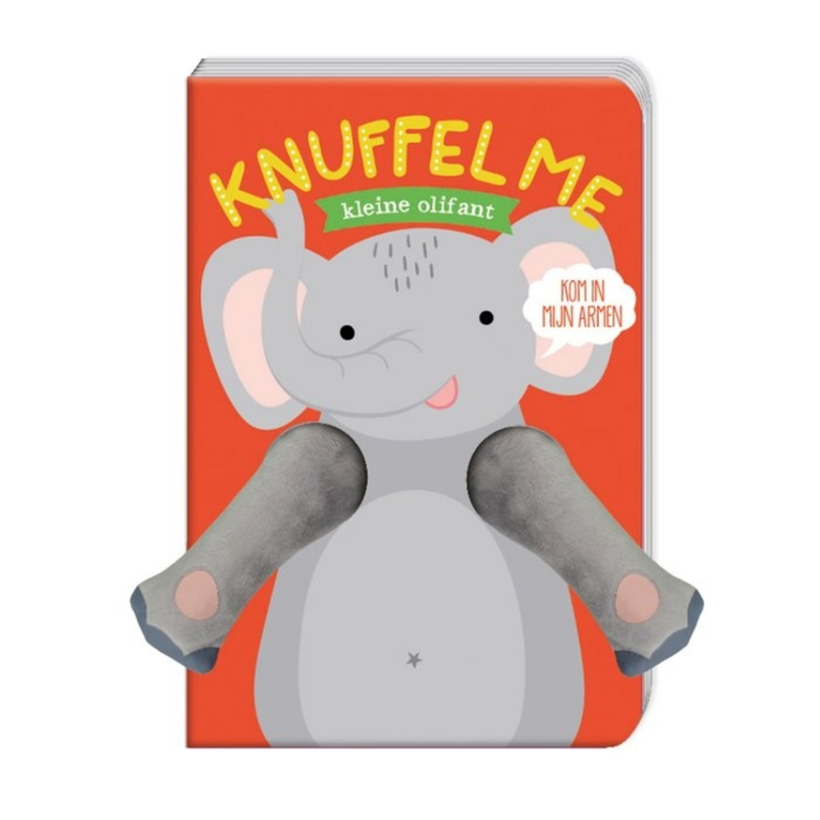 Knuffel me kleine olifant