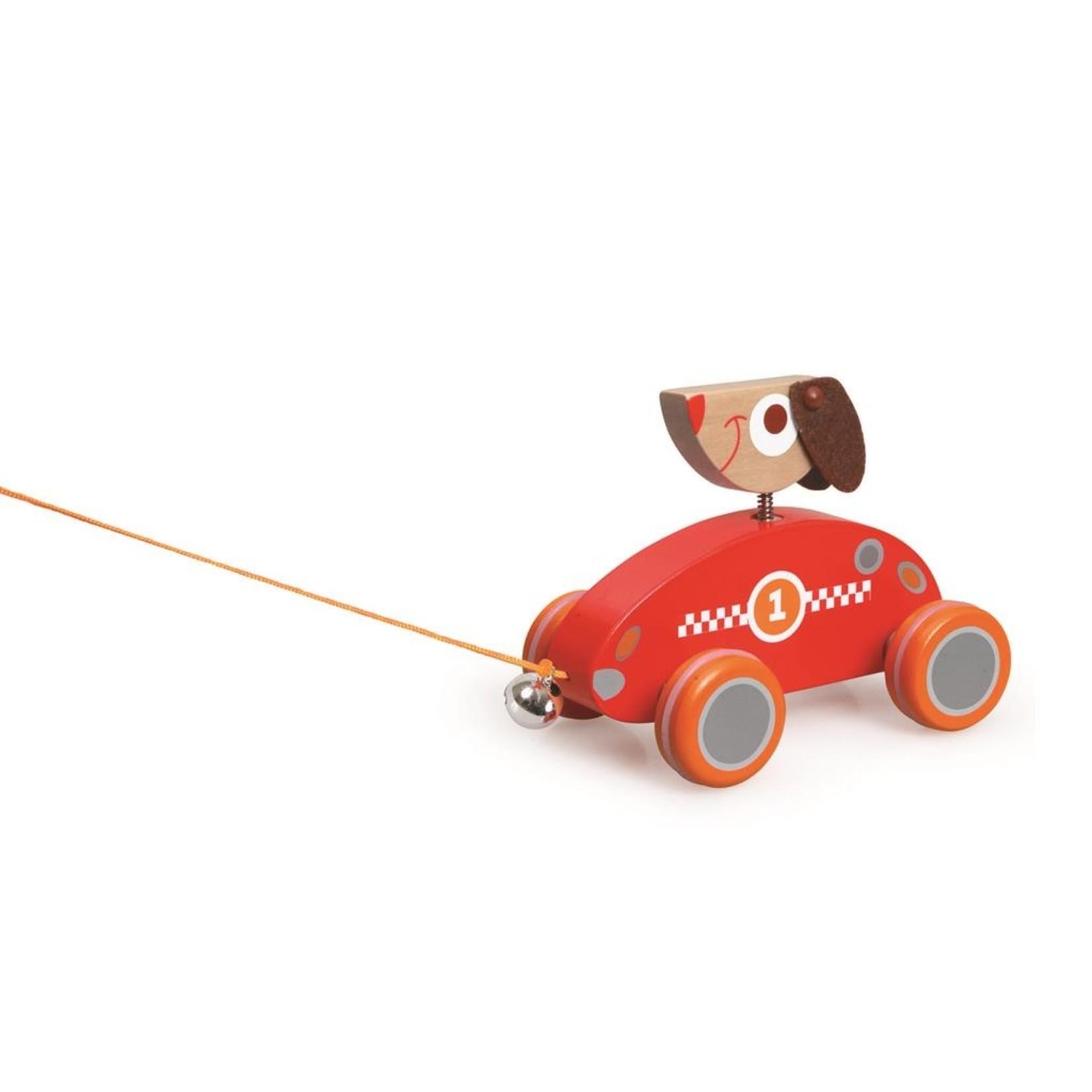 Trekfiguurtje Hond César