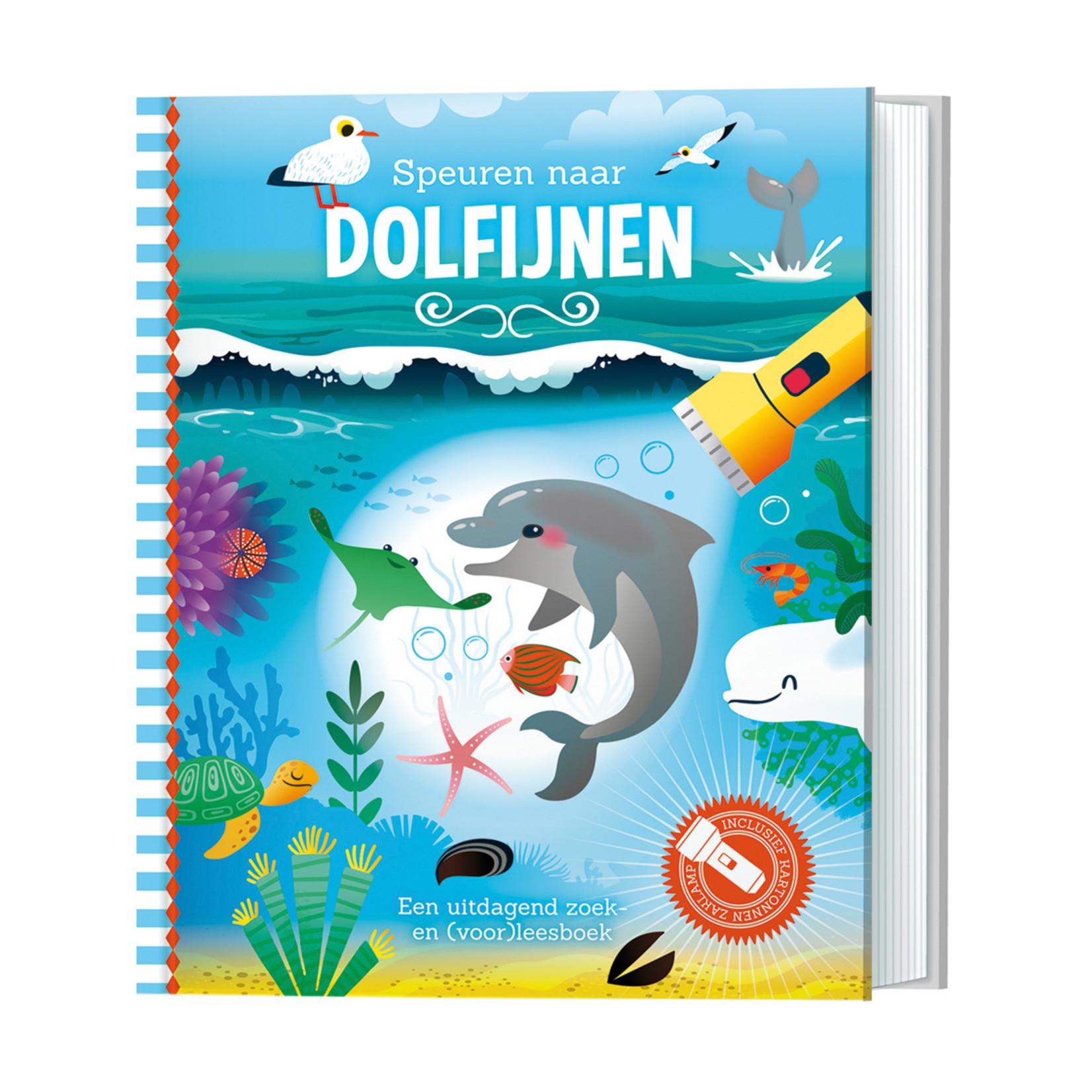 Zaklampboek - Speuren naar dolfijnen