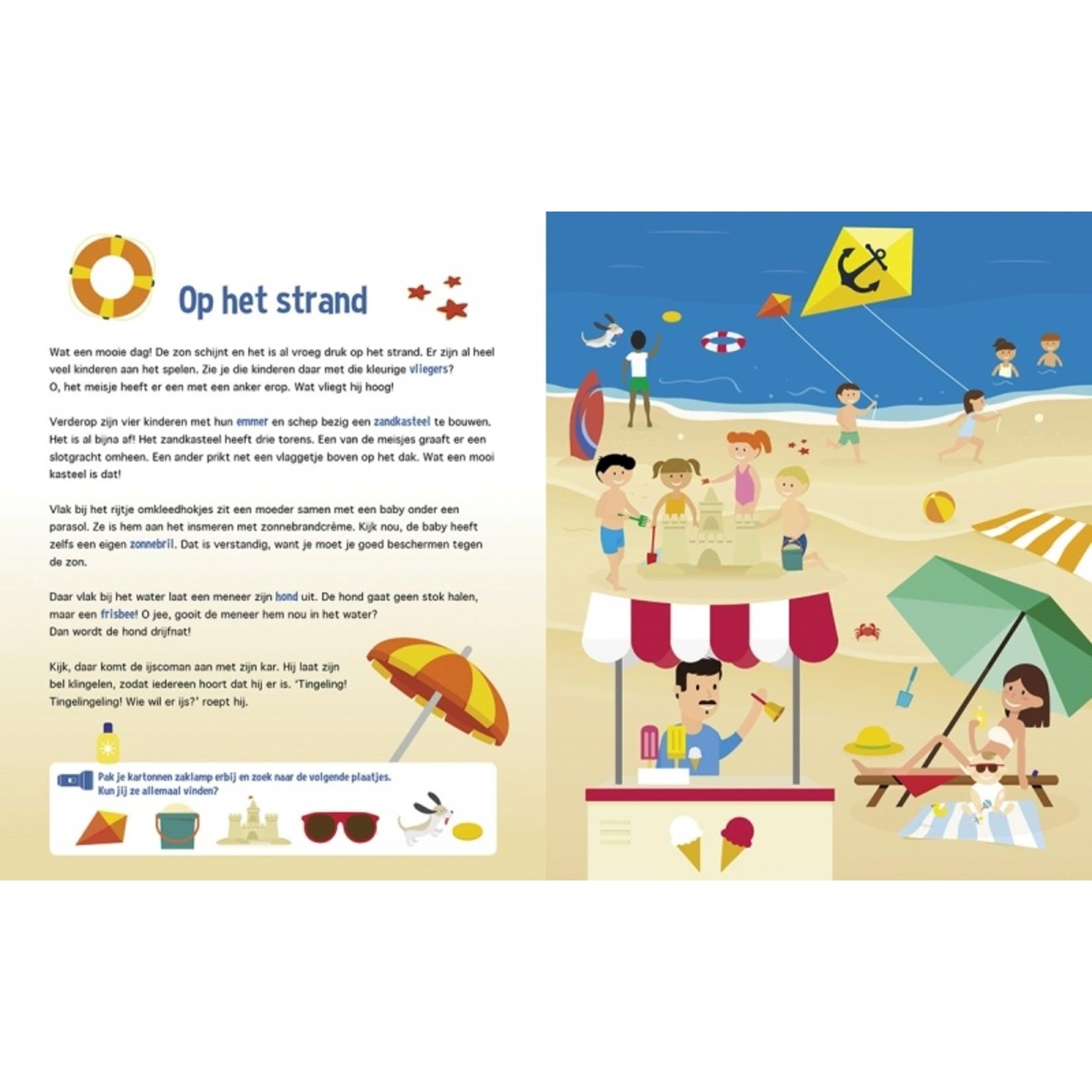 Zaklampboek - Speuren langs de kust