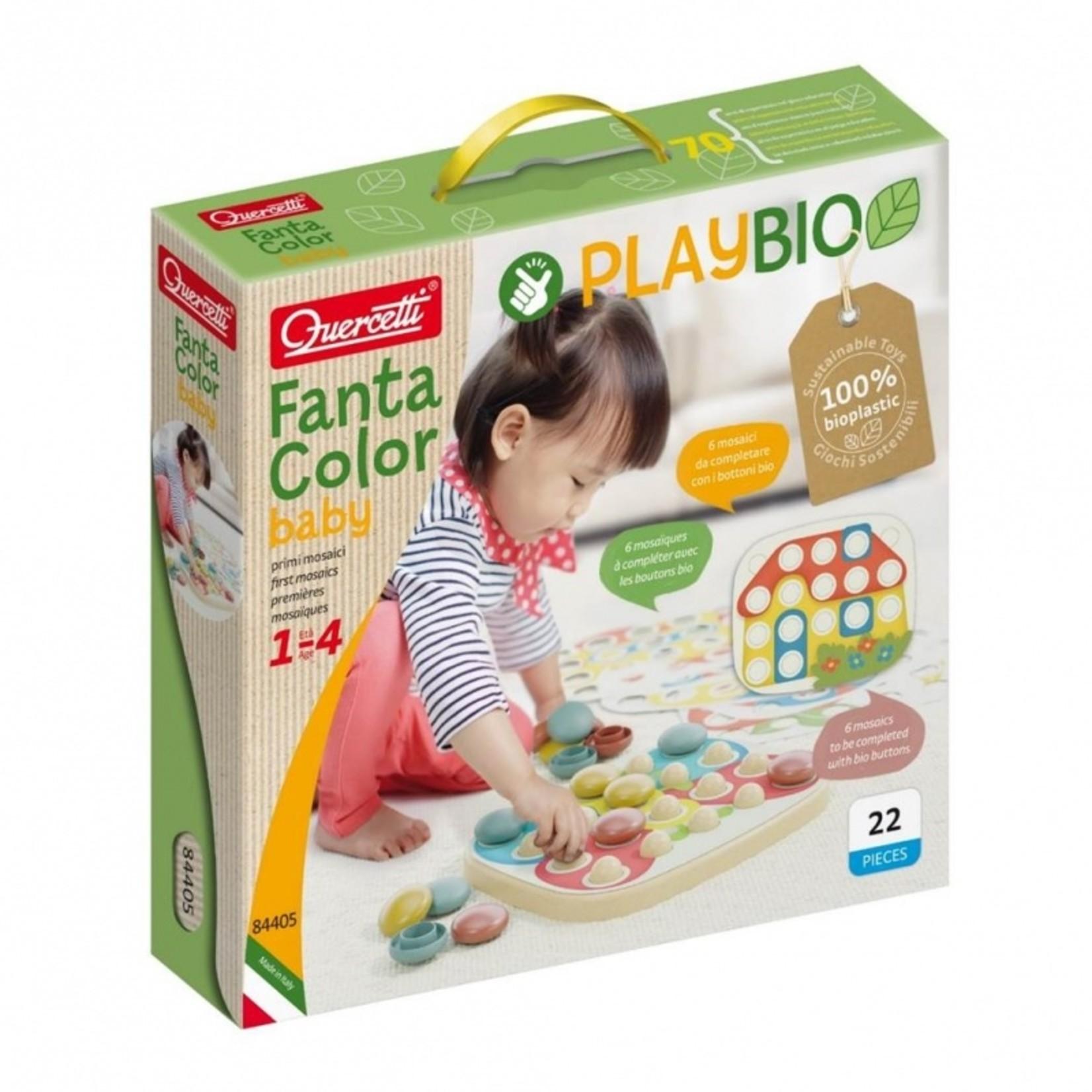 Play Bio FantaColor insteekmozaïek (22-delig)