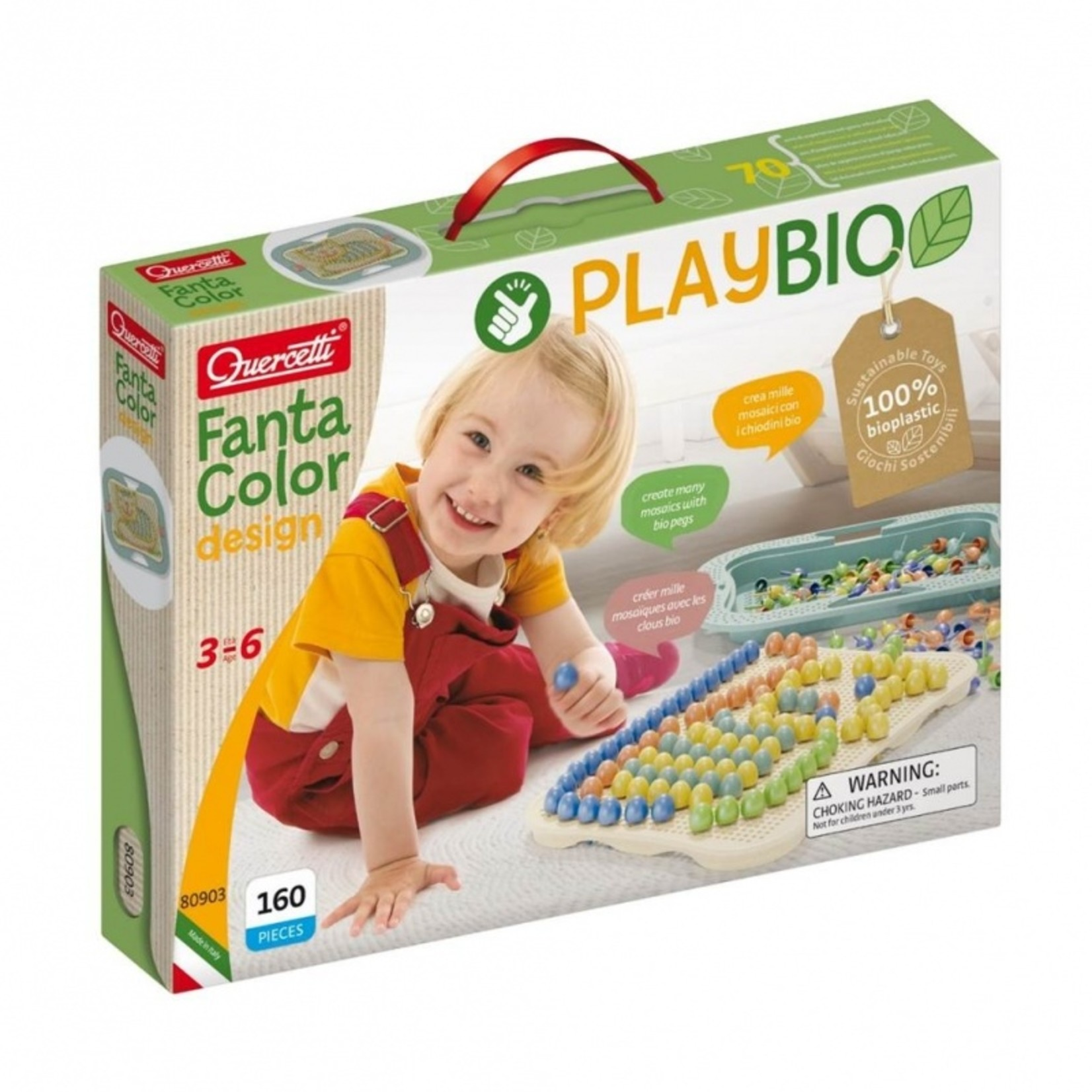 Play Bio FantaColor insteekmozaïek (160-delig)