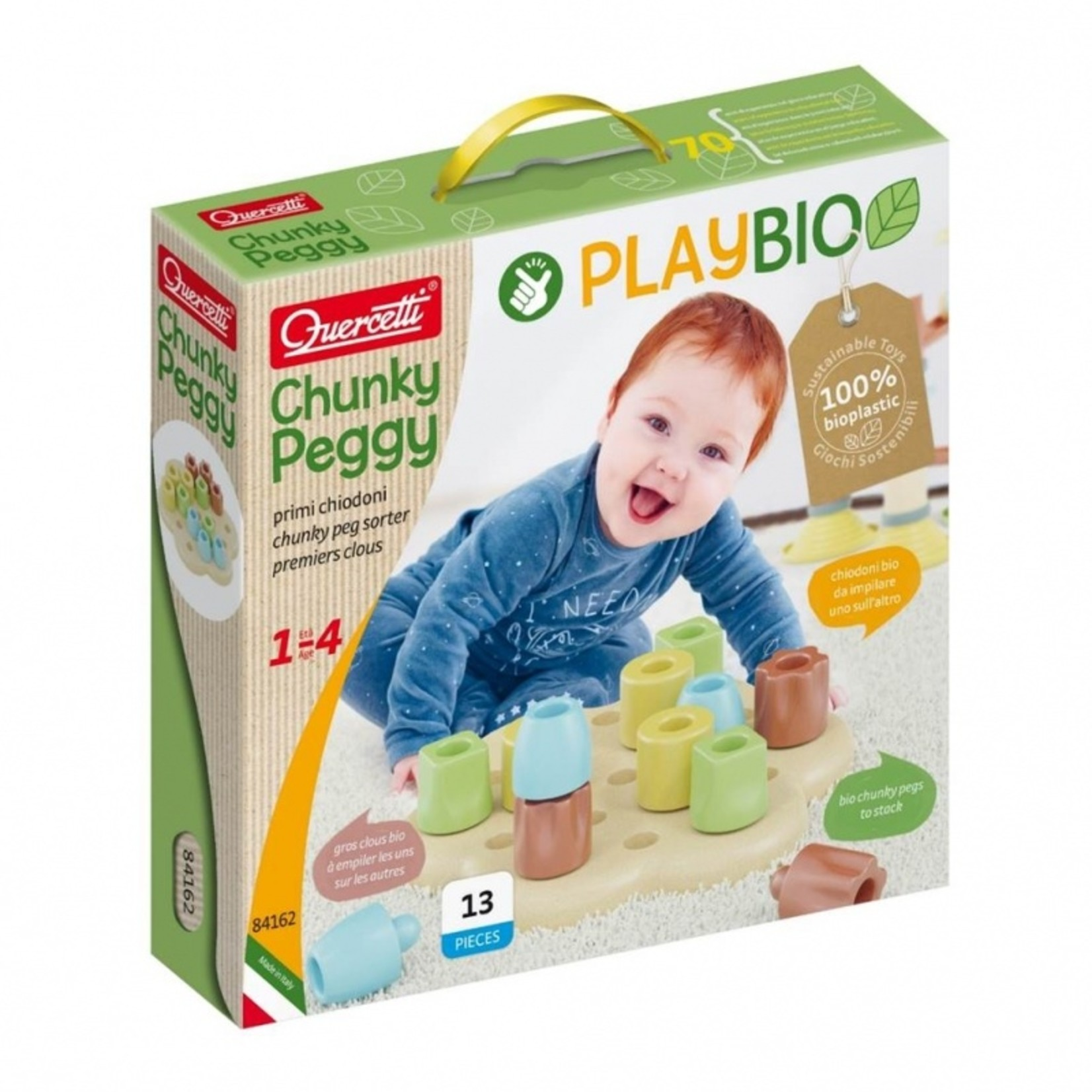 Play Bio  Chunky pegs (13-delig)