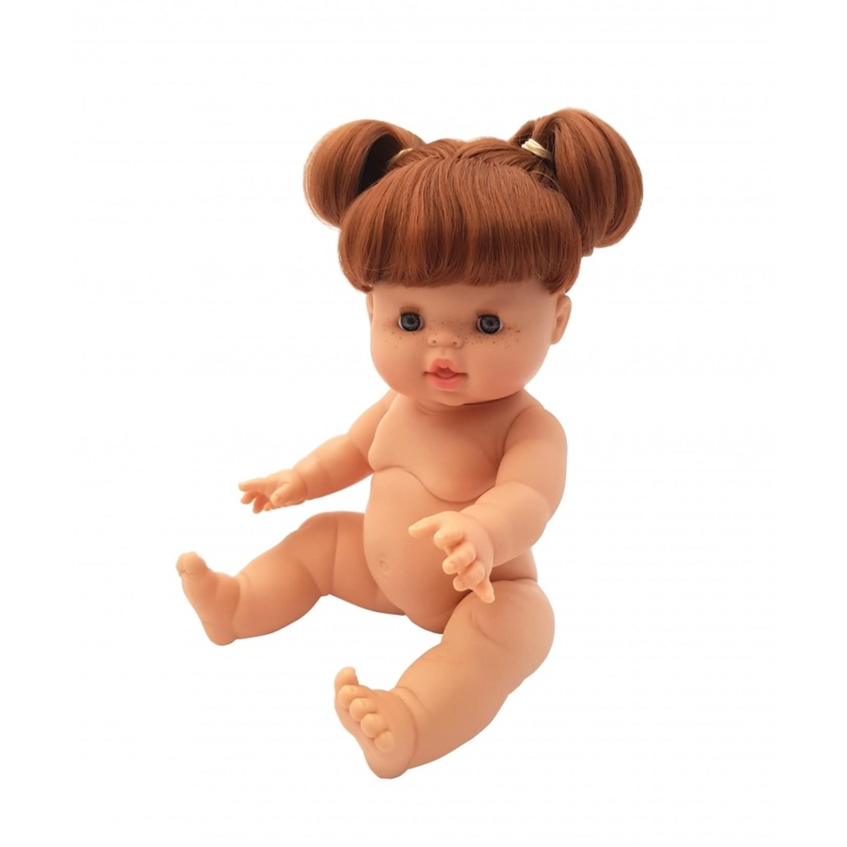 Gordi Babypop Meisje met rood haar